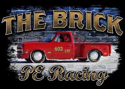 The Brick PE Racing Shirt Design