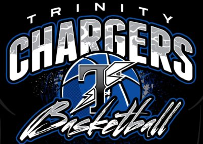 TRINITY CHARGERS Basketball Shirt Design