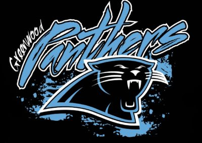 Greenwood Panthers Shirt Design